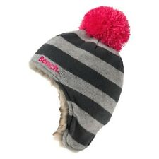 New 2013 Bench Girls Grey Finista Knitted Bobble Hat BGWK2024