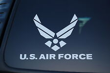 US Air Force Vinyl Sticker Decal (V139) USAF Military Armed Forces Car Truck