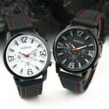 Sports Military Pilot Aviator Army Style Silicone Men's Outdoor WristWatch Watch
