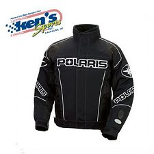POLARIS Men's Black RIPPER Winter Snowmobile Jacket 2862018_