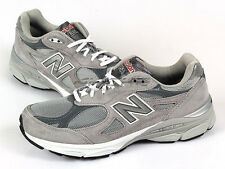 New Balance M990GL3 2E Grey & White Suede Lifestyle Top Running Shoes 2013 NB