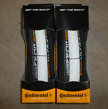 PAIR Continental Ultrasport FOLDING Road Bike Tyres 700c x 23c VARIOUS COLOURS