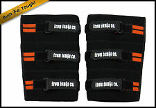 SUPER HEAVY KNEE SLEEVES WRAPS STRAPS GYM WEIGHT POWER LIFTING BODYBUILDING #060