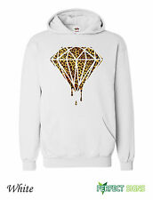 DOPE DIAMOND LEOPARD PRINT BLOOD OFWG TAYLOR GANG Hoodie S-XXL  - White