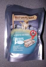 The Natural Way Fish Dog Treats Low Fat Omega 3 Hypo-Allergenic Gluten Free