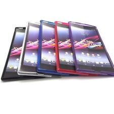 S Gel TPU Case Cover Skins + LCD Film For Sony Xperia Z Ultra XL39h