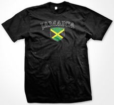 Jamaica Country Crest Flag Colors Nationality Ethnic Pride -Mens T-shirt
