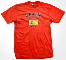 Spain Spanish Country Crest Flag Colors Nationality Ethnic Pride -Mens T-shirt
