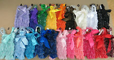 1 NEW LACE GLITTER ROMPER   XS-L 20 DIFFERENT COLORS TO CHOOSE  FREE SHIPPIN
