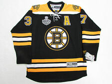 BERGERON BOSTON BRUINS 2011 STANLEY CUP REEBOK HOME HOCKEY JERSEY