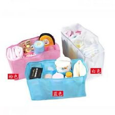 3 Colors Hotsale New Baby Diaper Nappy Storage Travel Bag Tote Organizer Liner H