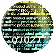 LARGE Security Hologram NUMBERED Labels, 20mm Round, Warranty Stickers, PS3 Xbox