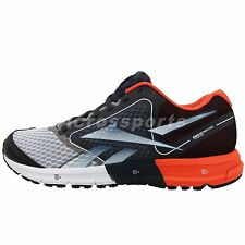 Reebok One Guide 2013 Grey Black Orange Mens Running Shoes Runner Sneakers