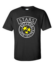 S.T.A.R.S RACCOON City Police T-Shirt inspired by Resident Evil Zombie stars