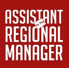 Assistant Regional Manager T-shirt Funny Office S-3XL