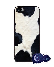 Cow Skin, Holstein Animal Print -Case for iPhone 5 or 5s, Cell Phone Cover