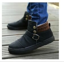 Hot Fashion Men's cotton-padded shoes winter boots Short snow boots warm boots#1