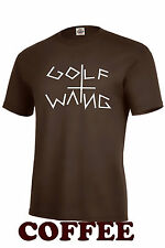 Golf Wang Wolf Gang~COFFEE COLOR T-SHIRT Tyler Creator~Odd Future OFGWKTA~WMU-22