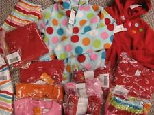 Gymboree COZY CUTIE red candy cane DRESS pink red VELOUR LEGGINGS pants socks
