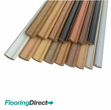 LAMINATE FLOOR SCOTIA EDGING BEADING 2.4m LENGTHS AVAILABLE IN 9 COLOURS CHEAP!