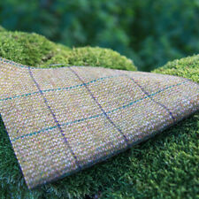 Harris Tweed Curtain/Upholstery Fabric - Huntsman Check - Winter Wheat