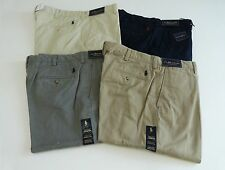 Men's Polo Ralph Lauren Preston Flat Front Pants ALL SIZES NWT