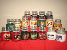 NEW Holiday / Christmas Village Candles  16oz / 26oz Jar Candle ~ You Pick Scent