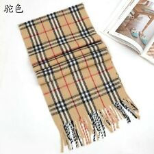 New Fashion Men's Women's Cashmere Tassel Winter Shawl Wrap Scarves Scarf