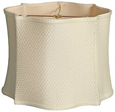Fancy Square Designer lamp shade (13, 14, 15 in. sizes) in 4 colors
