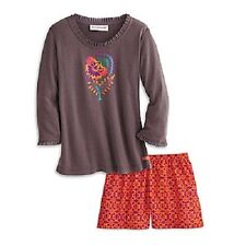 American Girl Saige's PAJAMAS for GIRLS to match Saige Doll sage XS S M L XL pjs