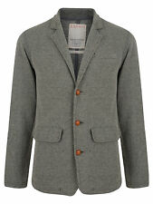 New Mens Esprit Blazer Jacket Grey Black Slim Fit Two Tone Tweed Textured Style