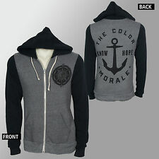 Licensed THE COLOR MORALE Compass Know Hope Logo Zipup HOODIE S M L XL XXL NEW