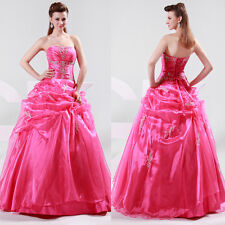 Formal Wedding Dress Bridal gown Bridesmaid Prom gown Quinceanera Party Dress GK