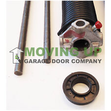"""Right Wind 192 X 2"""" X All Lengths Garage Door Torsion Spring w/ Winding Bars"""