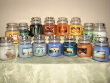 NEW Outdoors / Flower Village Candles ~ 16oz Jar Candle You Pick Scent ~ 2 Wick