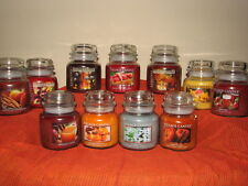 NEW Fall / Autumn Scented Village Candles ~ 16oz Jar Candle ~ You Pick Scent
