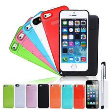 2200 mAh Kickstand External Power Battery Backup Charger Case for iPhone 5 5s