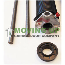"""Right Wind 250 X 2"""" X All Lengths Garage Door Torsion Spring w/ Winding Bars"""
