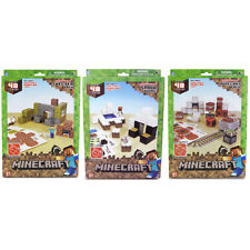 Minecraft Paper Craft 48+ Piece Set