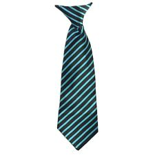 25 + Colors Clip On Neck Tie For Toddler (2T-4T )Kids(4-7) Boys (8-16) Satin Tie