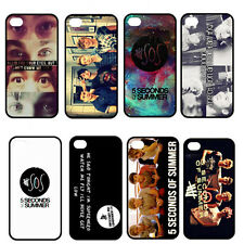 Pop Band 5SOS Handsome Boys Hard Plastic Case Cover For iPhone 4 4S 5 5G 5S 5C