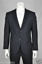 Suit Men's ALDO COLITTI Seattle Super100 New Wool Pin-Striped Blue