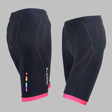 New Women's Bike Bicycle Cycling Shorts 3D Padded Riding Half Pants Size S-XL