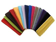 """2"""" Cotton Stretch Headband. Great for sports!  One Size .99 Each! Fast US Ship"""