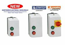 LOVATO DIRECT ON-LINE STARTERS  IN INSULATED IP65 ENCLOSURES DOLS, DOLSW & DOLR