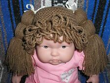 CABBAGE PATCH STYLE WIG HATS FOR BABIES