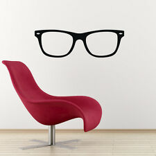 Geek Glasses Wall Sticker / Nerd Decal - Child or Teen Decor for Study / Bedroom