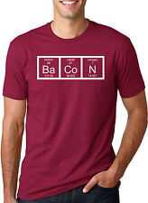 The Chemistry Of Bacon T Shirt Funny Periodic Table Tee