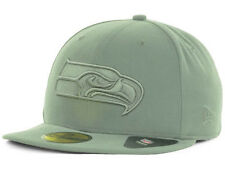 Official Seattle Seahawks New Era NFL Storm Gray Basic 59FIFTY Hat