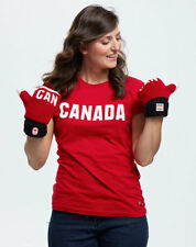 Sochi 2014 Official Canada Winter OLYMPIC COLLECTION Snow Top Red Mittens